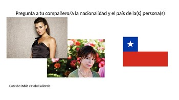 Famous Hispanics Nationalities Powerpoint