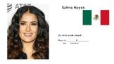 Famous Hispanics Nationalities Powerpoint