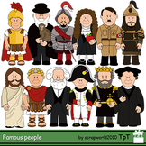 Famous Historical Characters Clipart