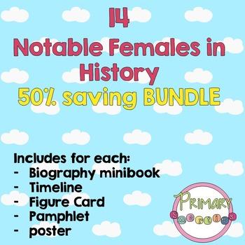 Famous Historical Females- Bundle