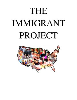 Famous Immigrant Multi-Genre Research Project