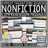 Famous Inventions Reading Comprehension Passages and Quest