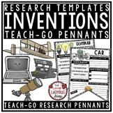 Famous Inventions Research Project Teach- Go Pennants™ Inventions Activities