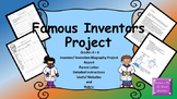 Famous Inventor Biography Project