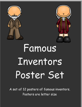 Famous Inventor Posters