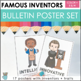 Famous Inventor Posters (Bulletin Board Display & Classroo
