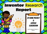 Famous Inventor Research - Print AND Google Slides Versions