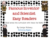 Famous Inventor and Scientist Easy Readers