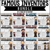 Famous Inventors Biography Pack BUNDLE