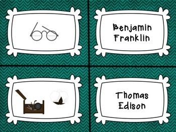 BIOGRAPHY INVENTORS: And Inventions With Reading Passage and Graphic Organizers