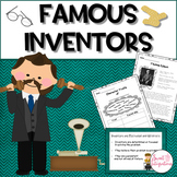Inventor Biographies | Famous Inventors Reading Passage | Graphic Organizers