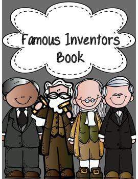 Famous Inventors Book