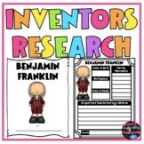 Famous Inventors Research