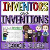 Famous Inventors Research Project in Google Slides™