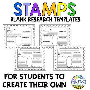 Famous Inventors Research Templates for Grades 3-5