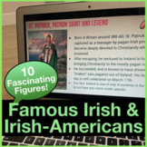 Famous Irish & Irish-American Heroes, Artists, and Leaders for St Patrick's Day