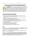 Famous Jewish People Mini-Research Paper with Prompt, Guidelines, and Rubric