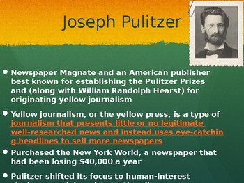 Famous Journalist Throughout American History