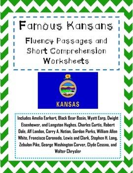 Famous Kansans: Fluency and Short Comprehension