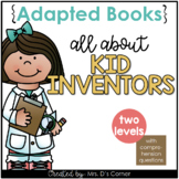 Famous Kid Inventors Adapted Books [Level 1 and Level 2] D