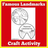 Landmarks | World Famous | Craft Activity | Kindergarten 1