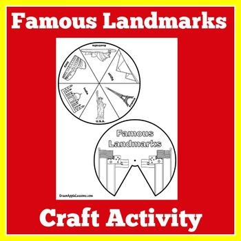 Famous Landmarks Craft   World Landmarks Activity