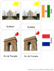Famous Landmarks 3-Part Cards