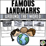 Famous Landmarks Around the World Research Project-Graphic