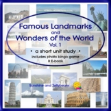Famous Landmarks & Wonders of the World - Geography - Prin