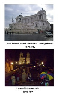 Famous Landmarks in Rome, Italy