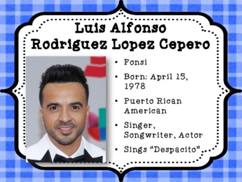 Famous Latin Americans
