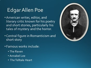 Famous Literary Authors PowerPoint Slideshow