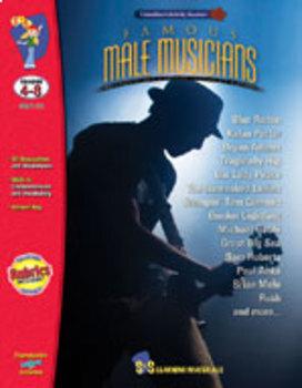 Famous Male Musicians Gr. 4-8