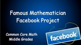 Famous Mathematician Facebook Project