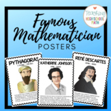 Famous Mathematicians Posters