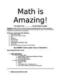 Famous Mathematicians Project with Options