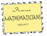 Famous Mathematicians Research Project