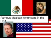 Famous Mexican-Americans Powerpoint. Chicanos famosos.