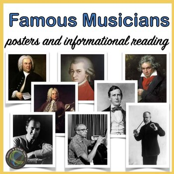 Famous Musicians Posters