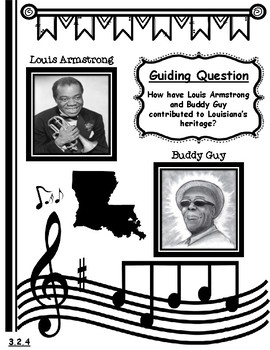 Famous Musicians of Louisiana