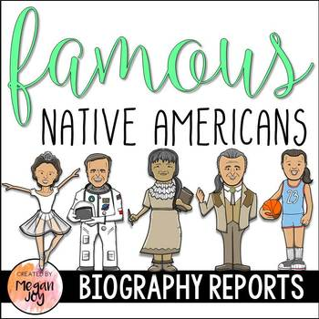 Famous Native Americans - Research & Writing