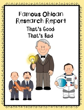 Famous Ohioan Report - That's Good That's Bad