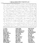 Famous People from Ohio Crossword & Word Search with KEYs