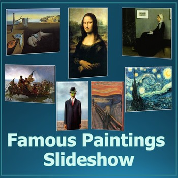 Famous Paintings PowerPoint Informational Slideshow - Art History
