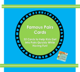 Famous Pairs Cards