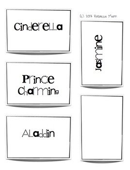 Famous Pairs Grouping Cards