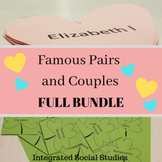 Famous Pairs and Couples Matching Game: Full Bundle