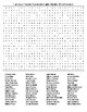 Famous People from Alaska Crossword and Word Search wKEYS