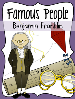 Famous People: Benjamin Franklin Clipart