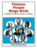 Famous People Bingo Book